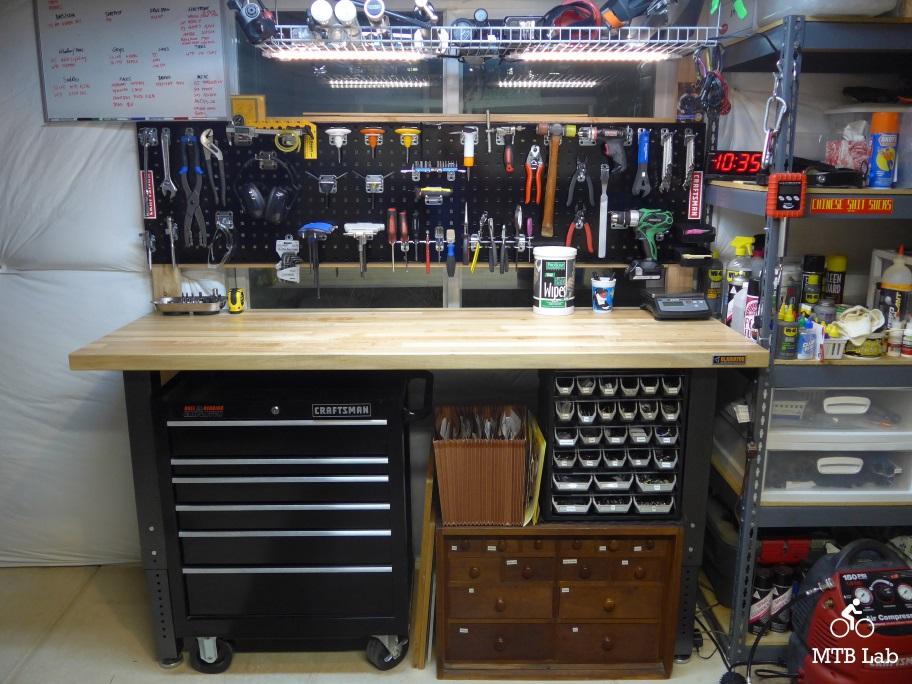 Home Bike Shop Part I Set Up