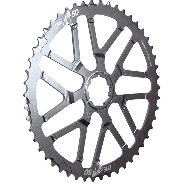 OneUp-Components-50T-Shark-Sprocket-Grey