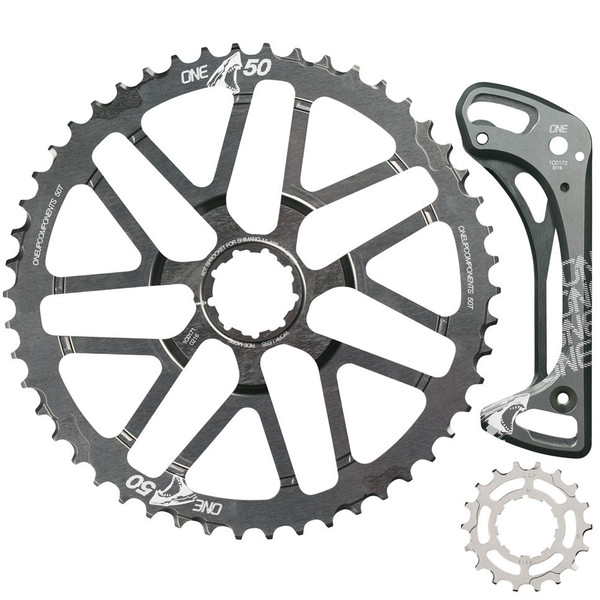 OneUp-Components-50T-Shark-Sprocket-Kit-Grey