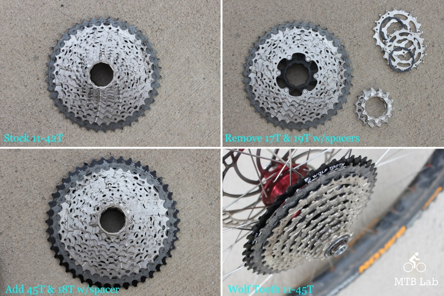 45T Wolf Tooth Components 45T GC Cog for Shimano 11-speed Silver