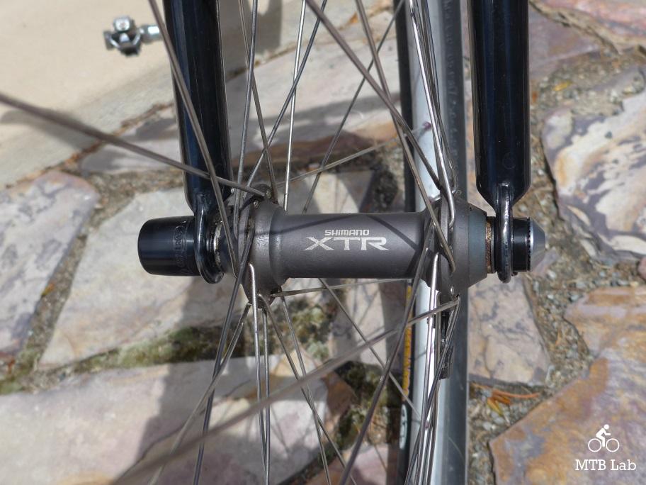 Single Abus NutFix Quick Release Bicycle Wheel Skewer