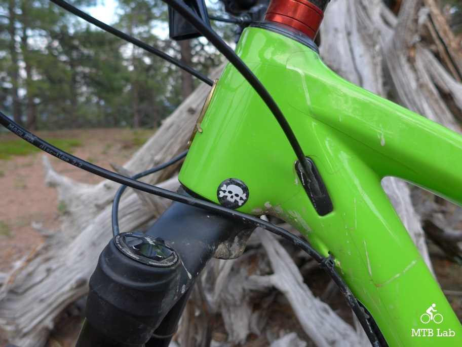 MTB Clear Frame Protector Downtube w// Free Crank Arm//Chain Stay Protector