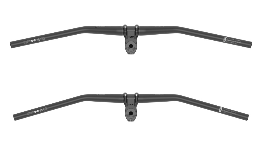 SQlab 30X Haute Alliage Riser Bar Noir 45mm//780mm 31.8