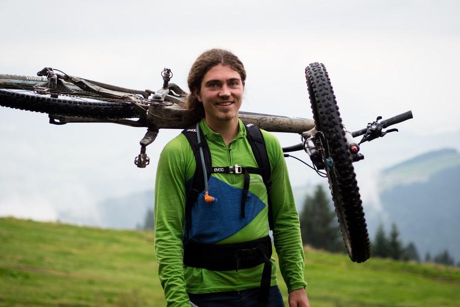 carrying bike