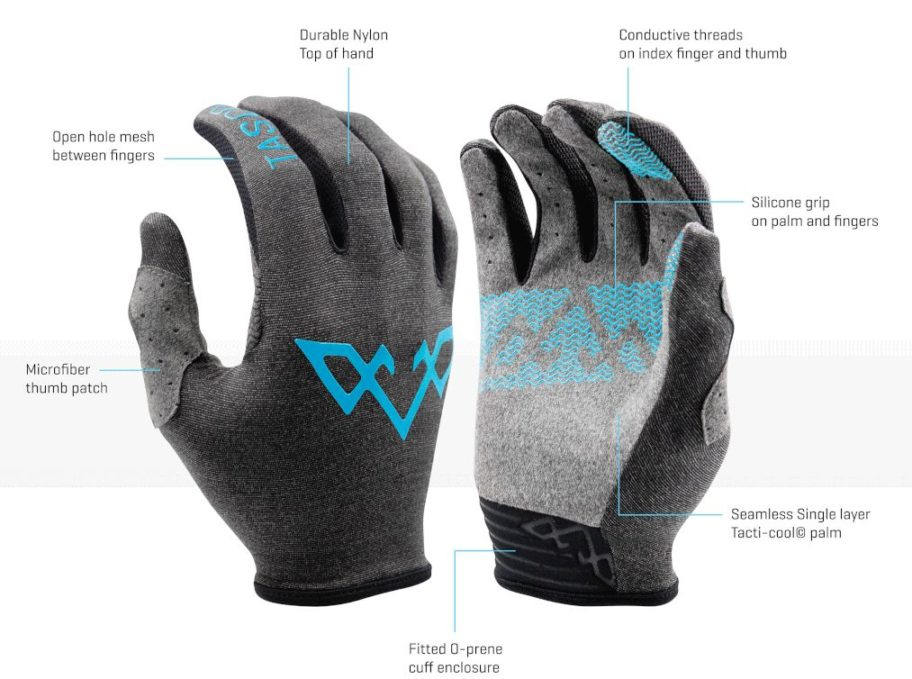 Sea Otter 2019 – TASCO MTB RECON Ultralight Cycling Gloves