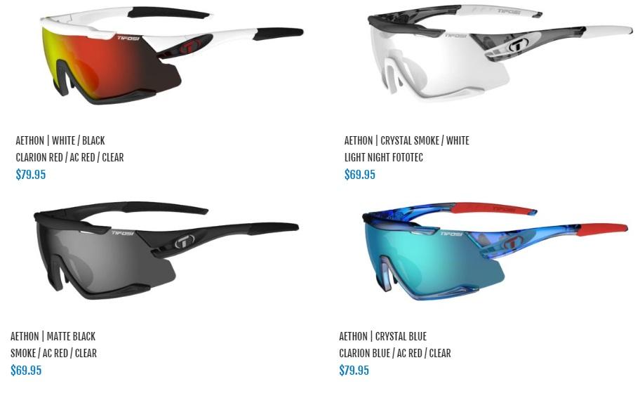Tifosi Optics Introduces The AETHON Sunglasses