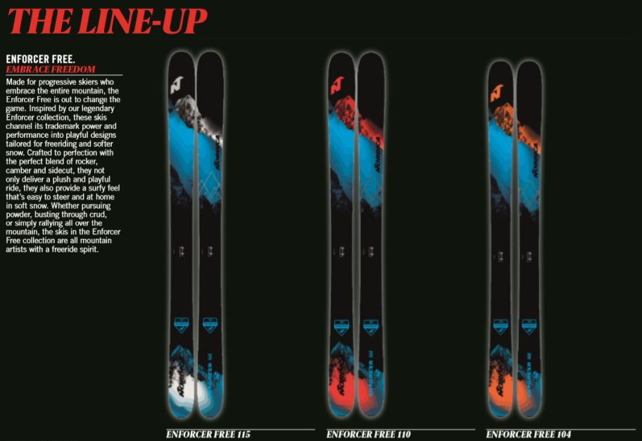 Nordica Announces New Enforcer 100 And 94 And Hf Boot Collection The Mtb Lab